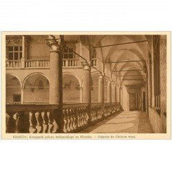 carte postale ancienne POLOGNE POLAND. Krakow Cracovie. Galeries Chteau Royal