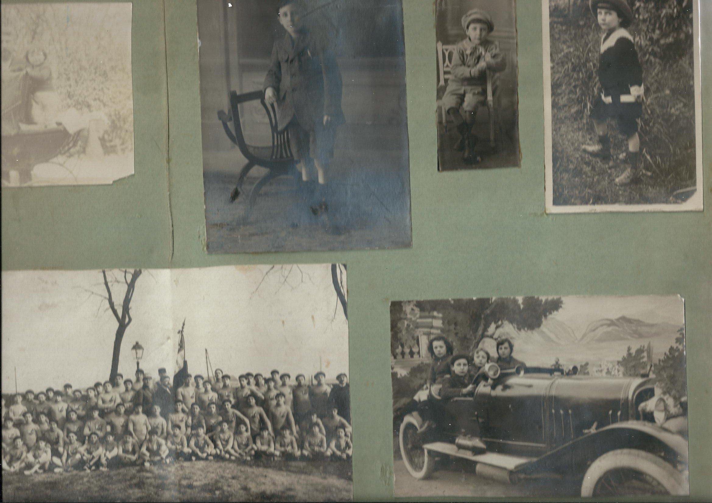 Planche de Photos ou autres du Comédien Ameline Régisseur de la Scène et Administrateur de la Cigale