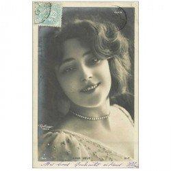 carte postale ancienne REUTLINGER. Comédienne Spectacle et Thétre. Anna Held 1905
