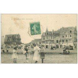 carte postale ancienne 14 VILLERS-SUR-MER. Jeu de Croquet 1911