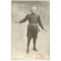carte postale ancienne SPECTACLE. Cyrano de Bergerac Coquelin Ainé par Nadar. Collection Neurdein vers 1900