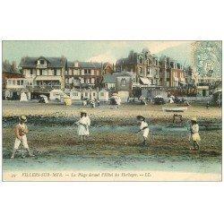 carte postale ancienne 14 VILLERS-SUR-MER. Jeu de Croquet Hôtel des Herbages