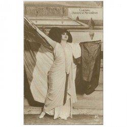 carte postale ancienne FEMMES. Chenal chantant la Marseillaise