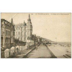 carte postale ancienne 14 VILLERS-SUR-MER. Villa Burgonde