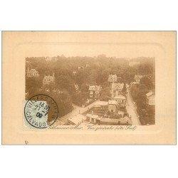 carte postale ancienne 14 VILLERS-SUR-MER. Vue générale 1909. Verso vierge