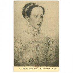 carte postale ancienne Biblothèque Clouet. MARIE STUART