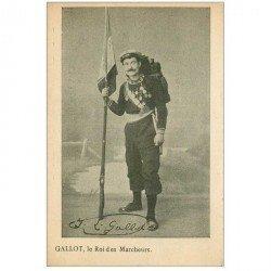 carte postale ancienne CELEBRITES SPORTIF. Gallot le Roi des Marcheurs à 61 ans
