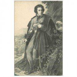 carte postale ancienne CELEBRITES. Charles Artus Marquis de Bonchamps né à Juvardeil