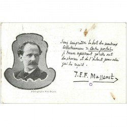 carte postale ancienne CELEBRITES. Compositeur Massenet