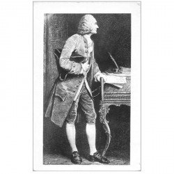 carte postale ancienne CELEBRITES. Compositeur Rameau