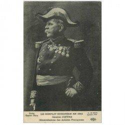 carte postale ancienne Célébrités. Général JOFFRE Militaire 1914