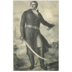 carte postale ancienne CELEBRITES. Georges Cadoudal Tête ronde