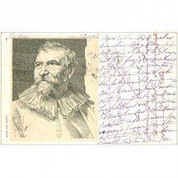 carte postale ancienne Carte Précurseur 1899. Artistes Peintres. Adam van Noort 1899