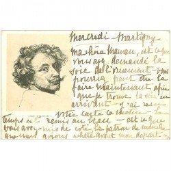 carte postale ancienne Carte Précurseur 1899. Artistes Peintres. Ant. van Dyck 1899