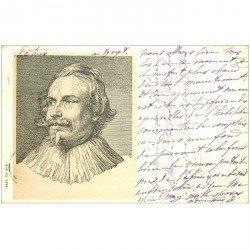carte postale ancienne Carte Précurseur 1899. Artistes Peintres. Paul de Vos 1899