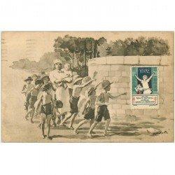 carte postale ancienne SANTE. Comité contre la Tuberculose 1930