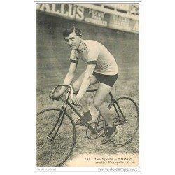 carte postale ancienne Sports Cyclisme et vélo. LIGNON. Routier Français