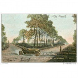 carte postale ancienne SPORTS. Courses Automobiles. Circuit de la Sarthe (72) La Fourche 1906
