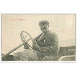 carte postale ancienne SPORTS. Courses Automobiles. Fournier 1910 Pilote de Courses