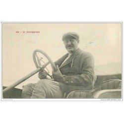 carte postale ancienne SPORTS. Courses Automobiles. Fournier 1910 Pilote de Courses