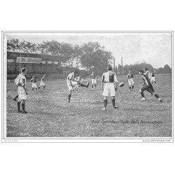 carte postale ancienne LES SPORTS. Football association