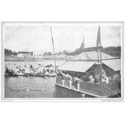 carte postale ancienne LES SPORTS. Natation