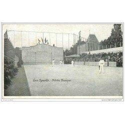 carte postale ancienne LES SPORTS. Pelote Basque