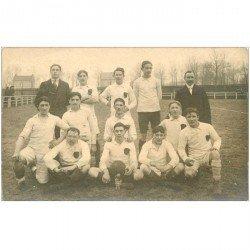 carte postale ancienne SPORTS. Equipe de football. Photo carte postale à identifier...