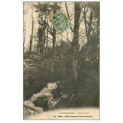 carte postale ancienne 14 VIRE. Cascade du Pont-es-Retoun 1907