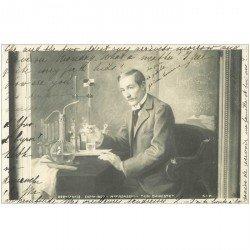 carte postale ancienne METIERS. Un Chimiste par Ronssin 1902