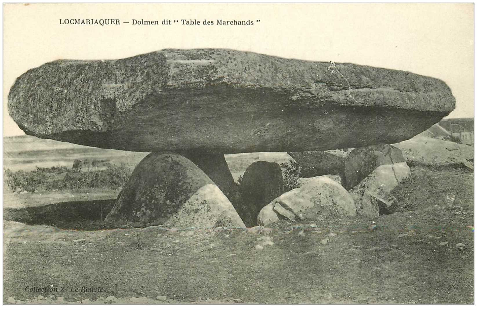 Dolmens et menhirs locmariaquer table des marchands - Locmariaquer table des marchands ...