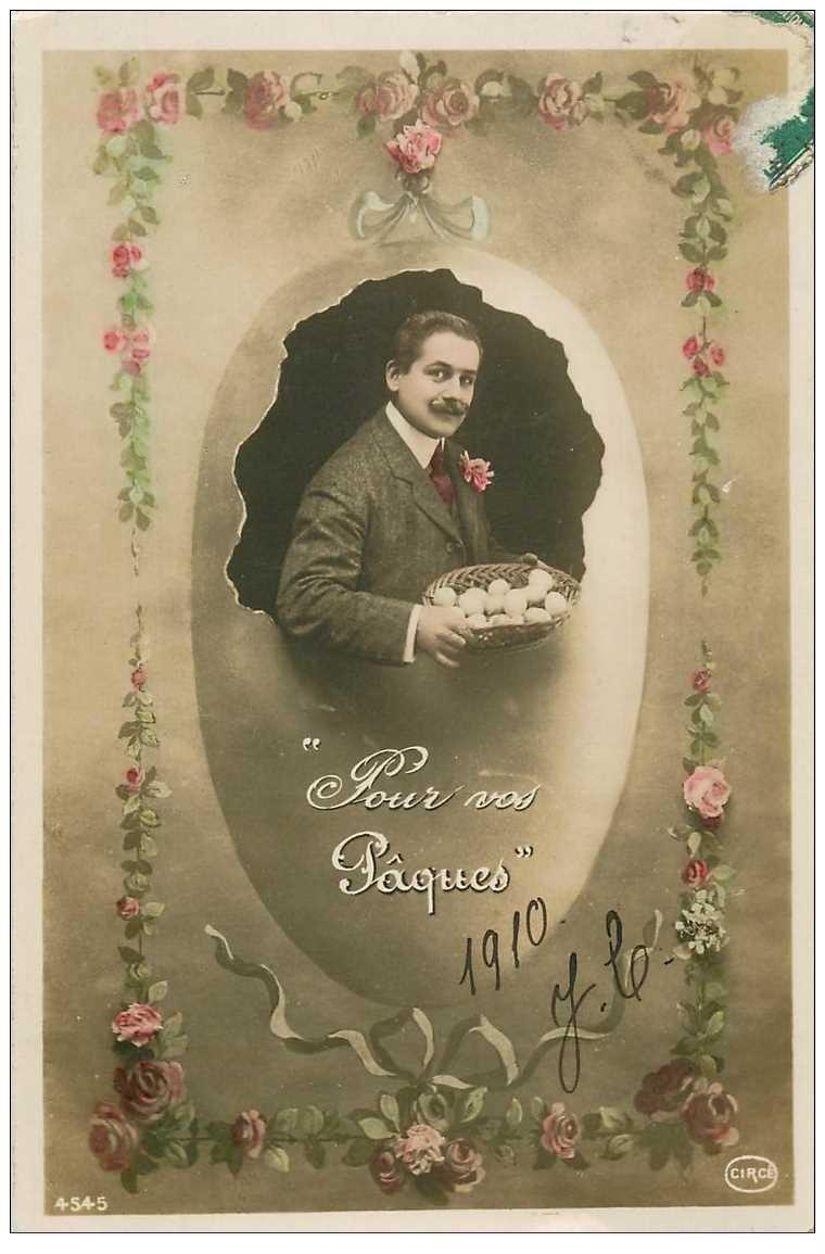 BONNES PAQUES 1910