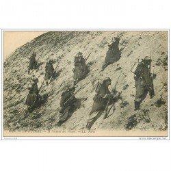 carte postale ancienne GUERRE 1914-18. A l'assaut des Vosges