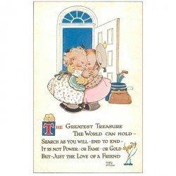 carte postale ancienne Carte Postale Fantaisie Illustrateur Mabel Lucie ATTWELL the greatest treasure