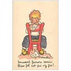 carte postale ancienne Carte Postale Fantaisie Illustrateur MARIHEN MARIKEN souvent Femme varie !...