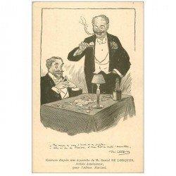 carte postale ancienne Gravure de Daniel de Losques Artiste dessinateur pour Album Mariani. Le Puzzle