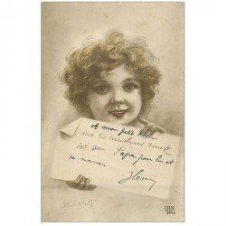 carte postale ancienne PRENOMS. Henri . Collection des Dix