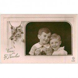 carte postale ancienne PRENOMS. Saint Nicolas