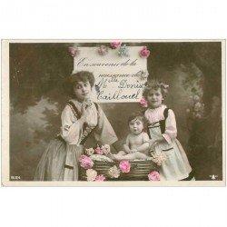 carte postale ancienne PRENOMS. Sainte Denise Caillouel