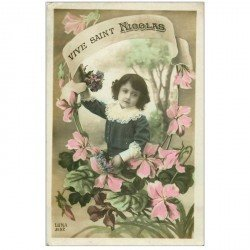 carte postale ancienne SAINT NICOLAS. Collection Luna