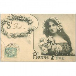 carte postale ancienne SAINT PAUL. Collection Bergeret 1905