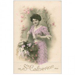 carte postale ancienne SAINTE CATHERINE. Collection Ange 1910