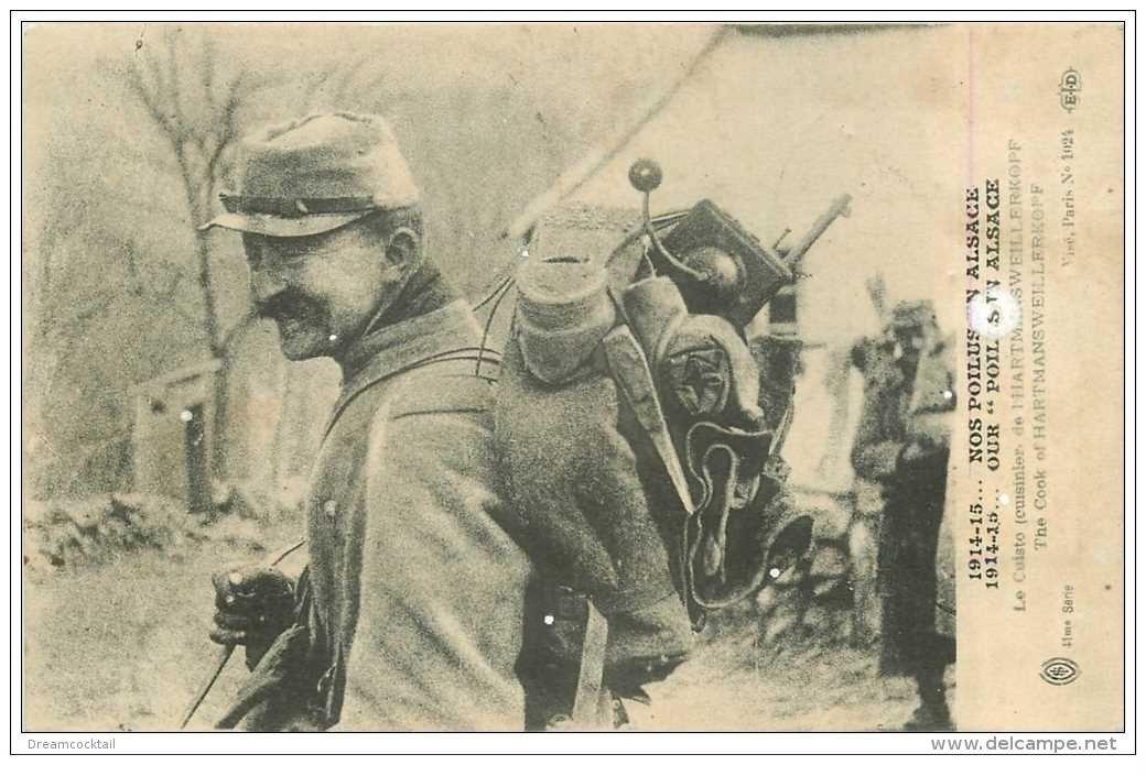 Guerre 1914 18 le cuisto ou cuisinier hartmansweillerkopf for Cuisinier xviii
