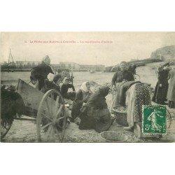 50 GRANVILLE. La Pêche aux Huîtres les Marchandes 1912 série n°12