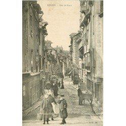 35 RENNES. Gamin Porteur d'eau Rue de Rennes 1905