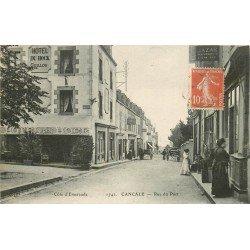 35 CANCALE. Hôtel du Hock rue du Port 1912