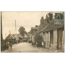 carte postale ancienne CABOURG 14. Le Vieux Cabourg 1931