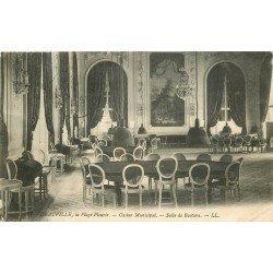 carte postale ancienne 14 DEAUVILLE. La Plage. Casino Salle de Baccara