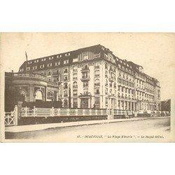carte postale ancienne 14 DEAUVILLE. Royal Hôtel