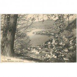 SUISSE. Territet Montreux Lac Léman